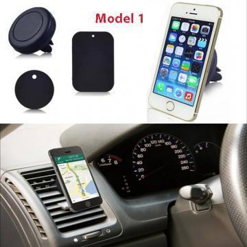 Suport auto magnetic telefon fixare pe grila de ventilatie