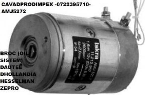 Motor 24V, oblon hidraulic Depro Amj 5272 Iskra, Letrika de la Cavad Prod Impex Srl
