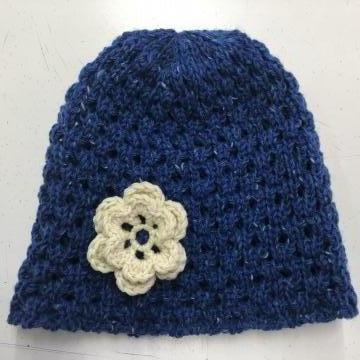 Caciula dama tricotata 100% lana