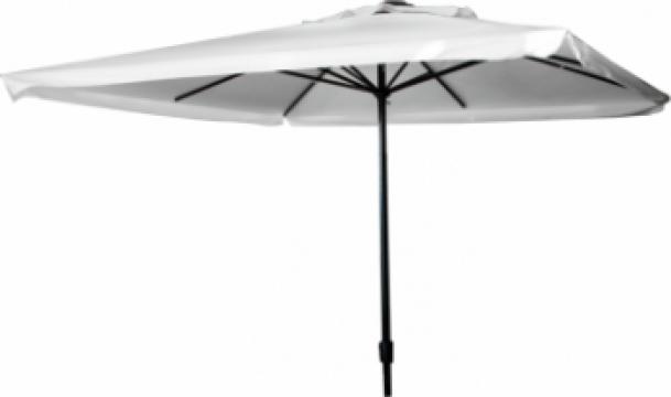 Umbrela soare patrata 3x3m culoare bej de la Basarom Com