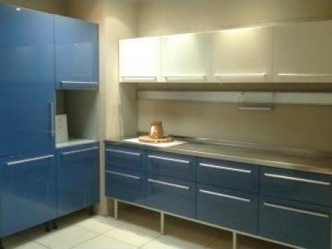 Mobilier bucatarie MDF Cromatica Blue, Berloni, Italia de la Omnitech Trading