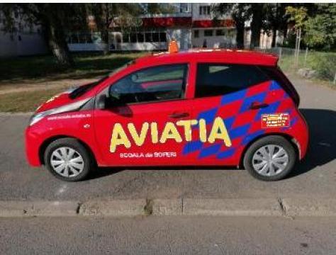 Cursuri auto categoria B pe Toyota Aygo de la Scoala De Soferi Aviatia