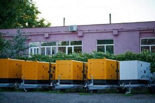 Inchiriere generatoare mobile trifazate 16kw/20kw/40kw/60kw de la Inchirieri Remorci Berceni