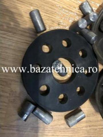 Element elastic cuplaj cu bolturi di 40 x Dext 123 x 15 mm de la Baza Tehnica Alfa Srl