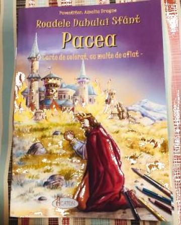 Carte de colorat cu multe de aflat Pacea
