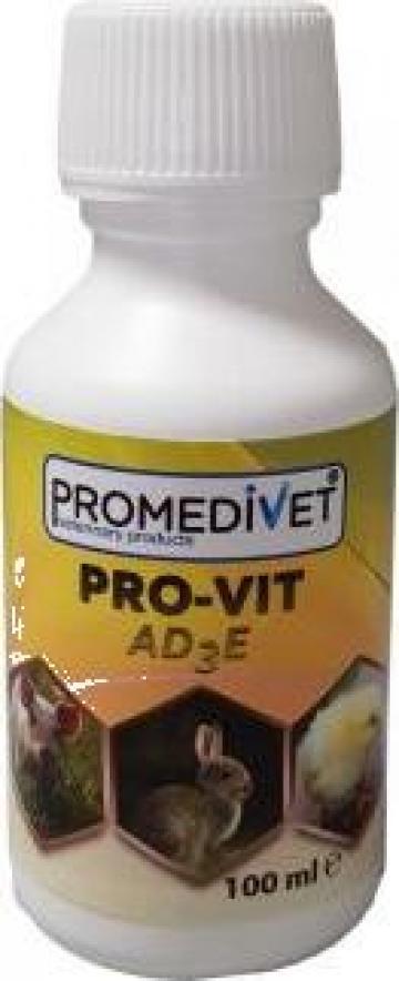 Solutie aditiv furajer Pro-Vit AD3E de la Promedivet