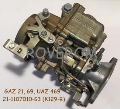 Carburator GAZ 21, 69, UAZ 469, 452 (K129-B) de la Roverom Srl