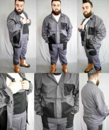 Salopete cu pieptar, pantaloni de salopeta, bluze de la Georom Next Concept Srl