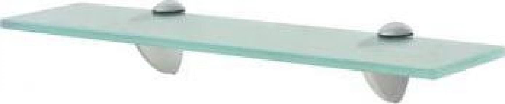 Raft suspendat din sticla, 40 x 20 cm, 8 mm