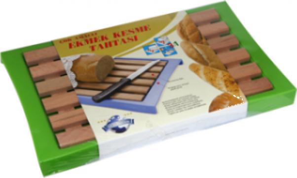 Tocator bucatarie din lemn pentru taiat paine Raki de la Basarom Com