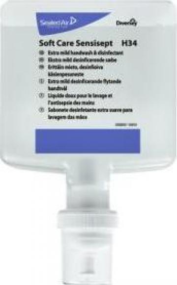 Sapun cu dezinfectant Soft Care Sensisept 1.3litri