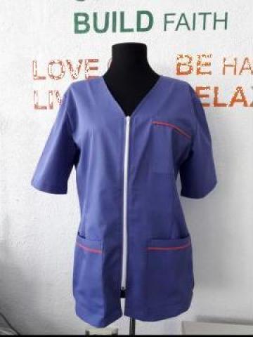 Bluza de lucru cu fermoar de la Sc Atelier Blue Srl
