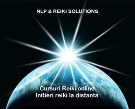 Curs online Initiere Reiki la distanta de la NLP & Reiki Solutions S.r.l.