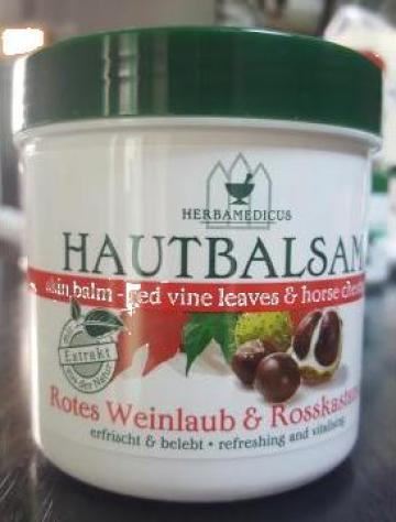 Balsam cu extract vita vie si castane salbatice Herbamedicus