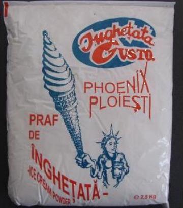Praf pentru inghetata 2,5 Kg fragi de la Cristian Food Industry Srl.