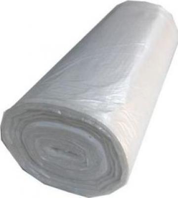 Saci menajeri HDPE 90 litri, 50 buc/rola, alb de la Cristian Food Industry Srl.