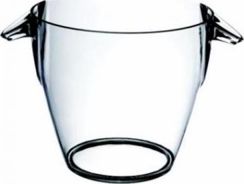 Frapiera pentru sampanie acril rotunda Kristal 4litri de la Basarom Com