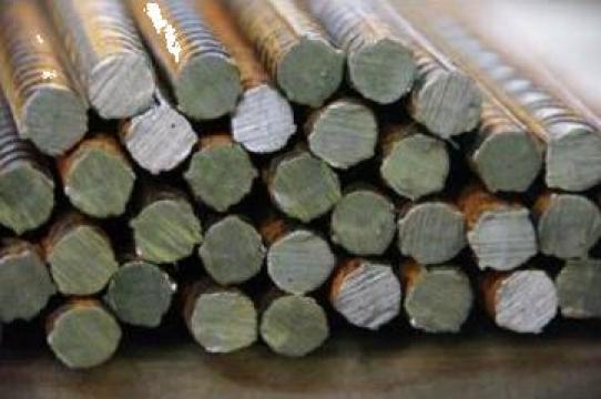 Otel beton / fier beton brut si fasonat si plasa sudata de la Metaled Steel Materials Srl