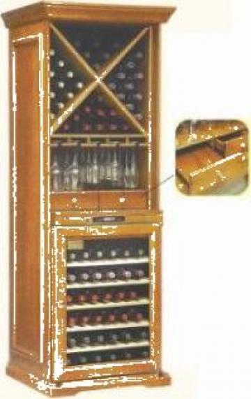 Vitrina profesionala vinuri de la Mischel Leonardo Srl.