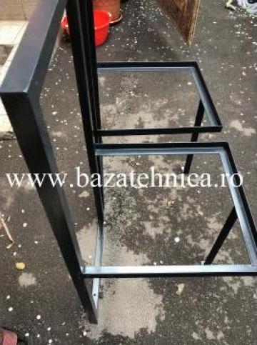 Suport cadru mobila 1000x600x500 mm, cornier 30x30x3 mm