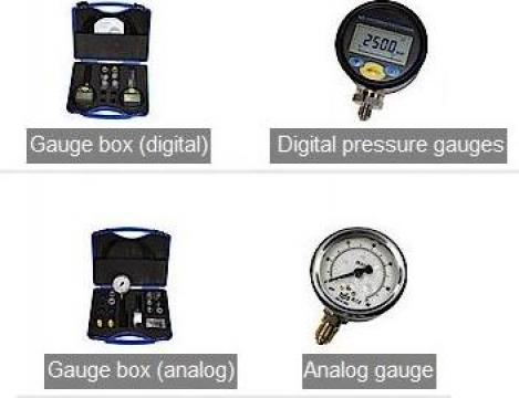 Truse cu manometre analogice sau digitale de la Interbusiness Promotion & Consulting Srl