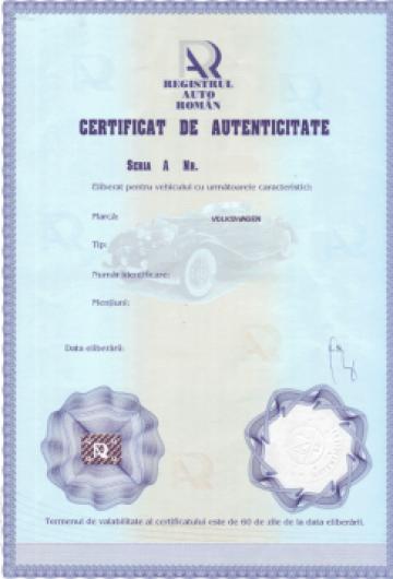 Autenticitate RAR judetele NT, BC, IS de la Industrial Expert Srl