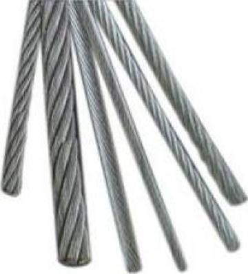 Cabluri de tratiune inox 6x36 IWRC AISI 316 de la Electrofrane