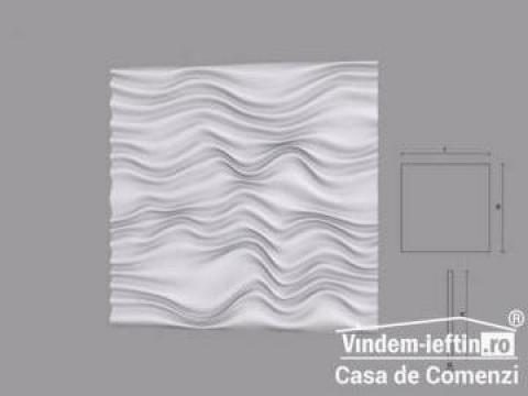 Panou din poliuretan 3D Rida 600x600mm de la Vindem-ieftin.ro