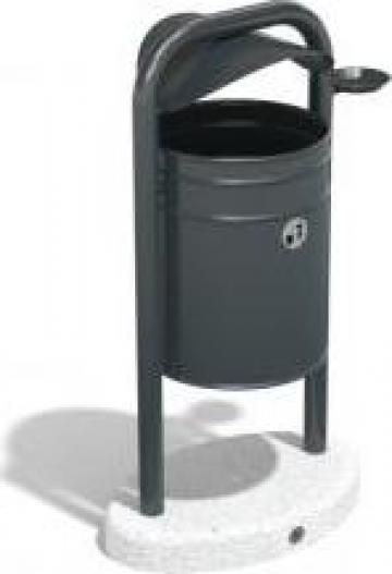 Cos de gunoi stradal metalic 91 de la Encho Enchev ETE Srl