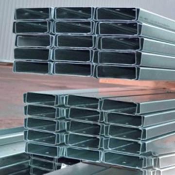 Profile zincate U 200x1.5