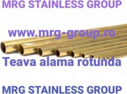 Teava alama rotunda 20mm CW508L CuZn37 W2.0321 Brass tube