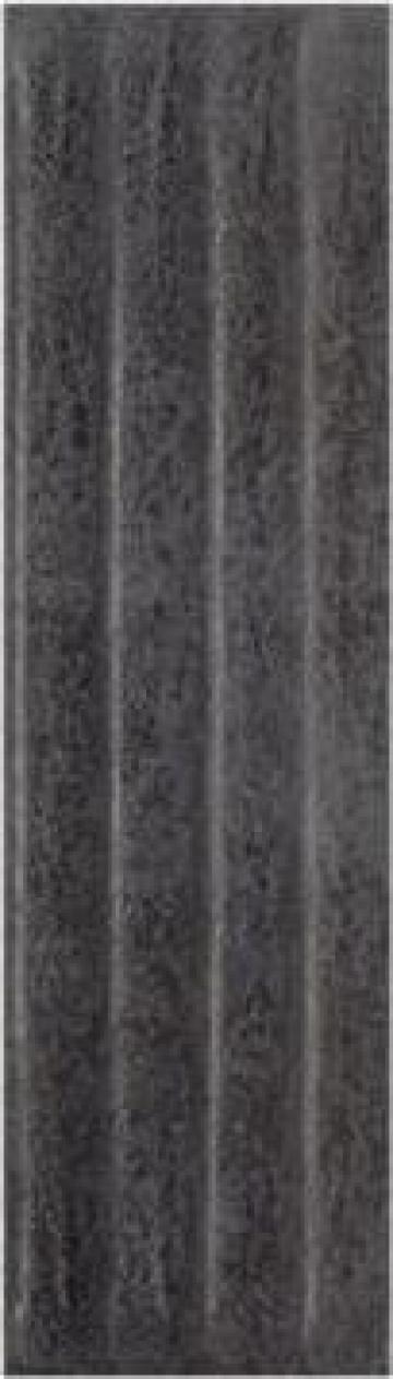 Caramida aparenta Bazalto Grafit C Elewacja Struktura Glebok de la Vindem-ieftin.ro