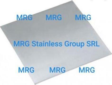 Tabla zinc 0.65mm pentru acoperis terase fatade rulou zinc de la MRG Stainless Group Srl