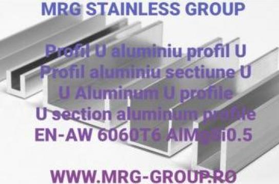 Profil U aluminiu 20x20x20x1.5mm, profil aluminiu U canal