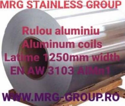 Tabla rulou aluminiu 0.5x1000mm rulou aluminiu, banda coala de la MRG Stainless Group Srl