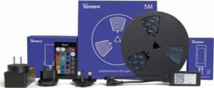 Banda LED Smart RGB dimmer 5m Sonoff L1 de la Konstructhor All SRL