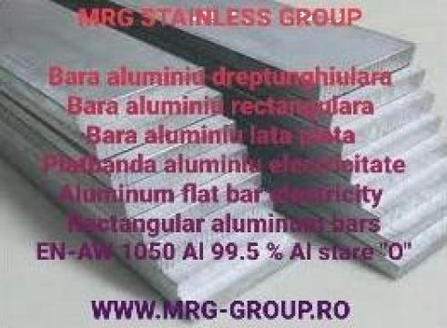 Platbanda aluminiu electricitate 60x10mm EN AW 1050A