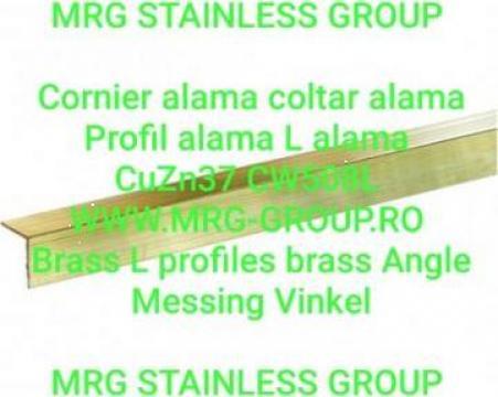 Profil L alama 20x20x2 coltar, cornier, alama, aluminiu