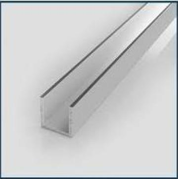 Profil U aluminiu 40x40x2 canal U