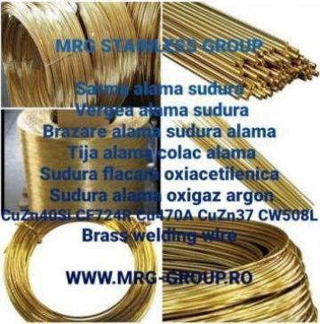 Sarma alama confectii sau sudura CuZn37 CuZn40Si