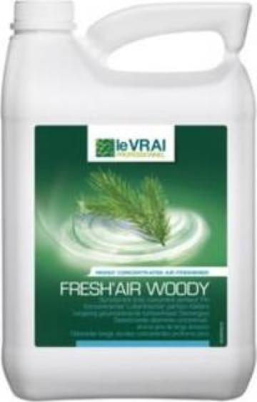 Odorizant ecologic 5 litri Fresh air Woody Action Pin de la Unilift Serv Srl