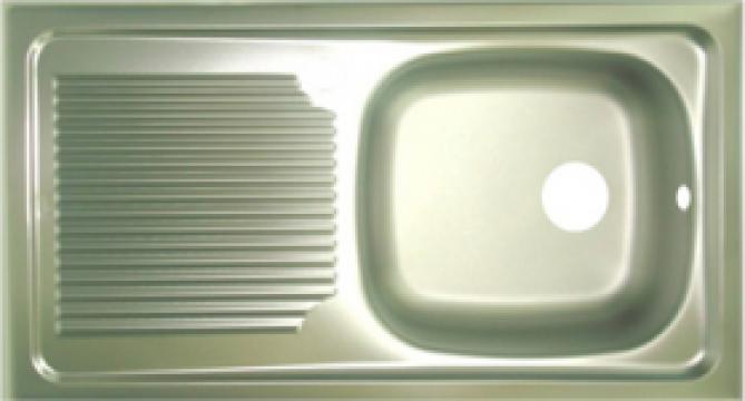 Chiuveta bucatarie inox 1 cuva de la SC Ebal Com SRL