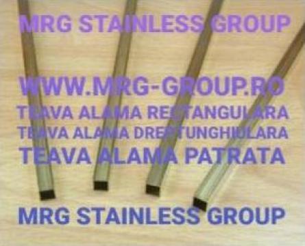 Teava alama patrata 15x15mm de la MRG Stainless Group Srl