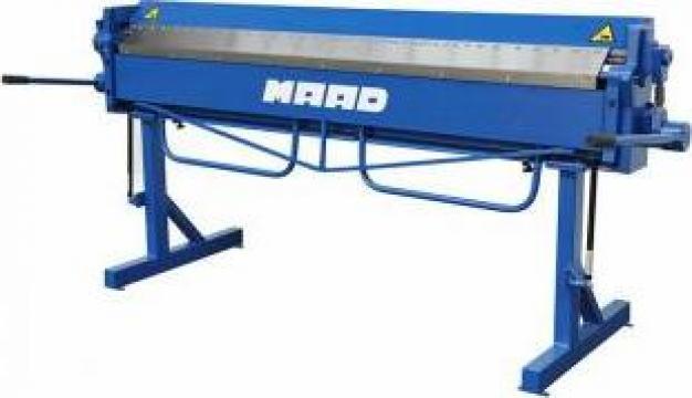 Abkant manual segmentat HS-2100 / 1.2 mm MAAD de la Proma Machinery Srl.