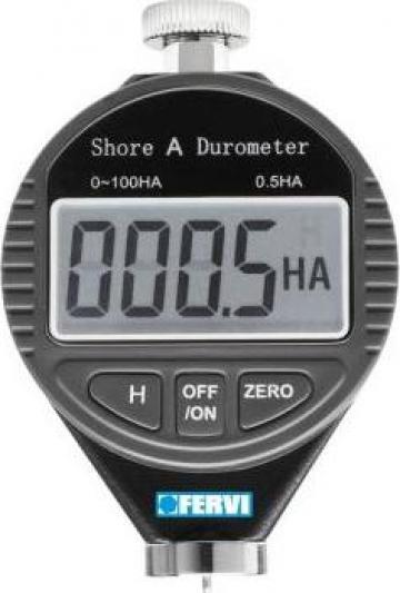 Durometru digital Shore A D011/A de la Proma Machinery Srl.