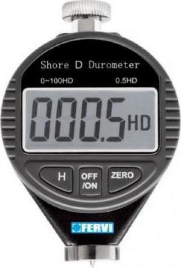 Durometru digital Shore D D011/D de la Proma Machinery Srl.