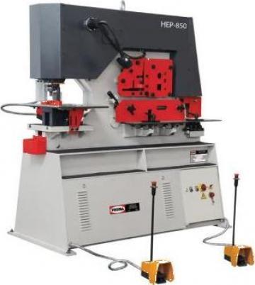 Foarfeca combinata pentru metal HEP-850 de la Proma Machinery Srl.