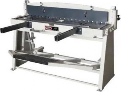 Ghilotina manuala PRGM-1300M de la Proma Machinery Srl.