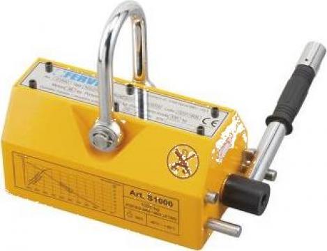 Magnet permanent pentru ridicare S1000 de la Proma Machinery Srl.