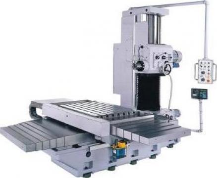 Masina de alezat si frezat orizontala HBM 110/14 de la Proma Machinery Srl.